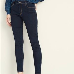 Old Navy Dark Blue Skinny Jeans